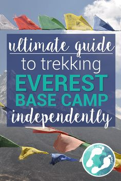 Ever wondered how to trek to Everest Base Camp? Can you do it on your own? How much does it cost? We've put together an Ultimate Guide with a full budget, a perfect itinerary, and a complete packing list! This is the answer to ALL your Everest questions!