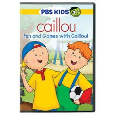 "Caillou: Fun and Games with Caillou DVD -  Pbs Home Video - Toys""R""Us"