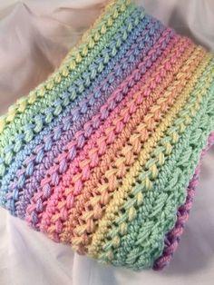 31ebd75221be8 Crochet Baby Blanket Hairpin L Baby Afghan Crochet