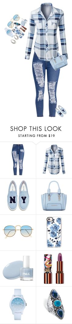 """""""Date night with my girls"""" by kim-smith-i ❤ liked on Polyvore featuring LE3NO, Joshua's, Red Herring, Casetify, Teeez, Lacoste, Palm Beach Jewelry and VicenzaSilver"""