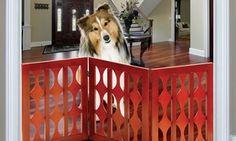 Groupon - Adjustable Wooden Pet Gate. Groupon deal price: $24.99