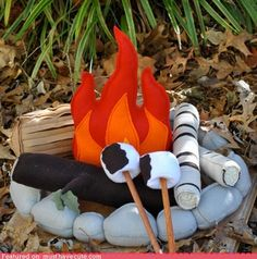 Looks like a cute project for make-believe camping!