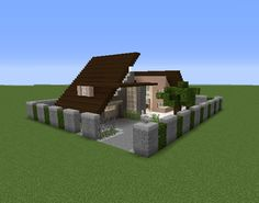 Building Games 555561304030769933 - Modern Private House 3 – GrabCraft – Your number one source for MineCraft buildings, blueprints, tips, ideas, floorplans! Source by Carchake Minecraft Mods, Minecraft Building Blueprints, Villa Minecraft, Modern Minecraft Houses, Minecraft Structures, Minecraft Plans, Amazing Minecraft, Minecraft City, Minecraft House Designs