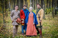Amazing Viking Garb!! - Autumn vikings: handweaving and sewing by Skupaya Hel. Viking dress from Norway and Denmark. All information and prices - leruka@yandex.ru