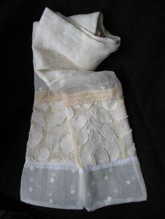 Turn vintage dresses into scarves.
