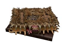 Harry Potter Replik 1/1 Monsterbuch der Monster  Harry Potter - Specials - Hadesflamme - Merchandise - Onlineshop für alles was das (Fan) Herz begehrt!