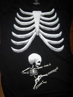 Ninja Baby Maternity Shirt... PURCHASE HERE: http://www.etsy.com/listing/159069490/baby-ninja-skeleton-maternity-shirt?ref=market