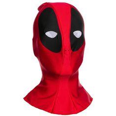 Adult Marvel Deadpool Costume Mask, Red