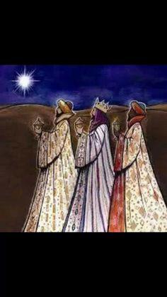 Wise ones still seek Him. Christmas Nativity, Christmas Pictures, Christmas Art, Christmas Projects, Vintage Christmas, 3 Reyes, Faith Crafts, Nativity Silhouette, We Three Kings