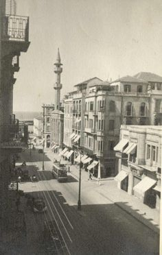 Foch Street, #Beirut [1942]