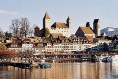 Old Buildings, Switzerland, The Good Place, Medieval, Cathedral, Louvre, Explore, Nice, Castles