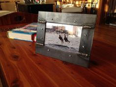 Rustic Industrial Handcrafted 4x6 Welded Steel by JoeZegley, $30.00
