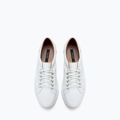 ZARA - SHOES & BAGS - LEATHER SNEAKER