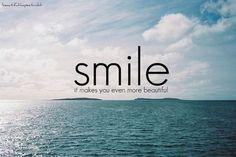 Sonríe! vía @Eva Collado Duran #unaactitudpositiva