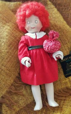 Handmade homemade Little Orphan Annie by BumpedandBruised on Etsy