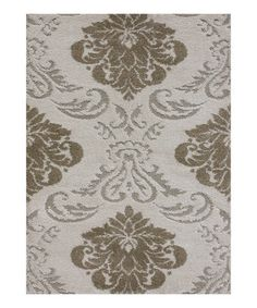 Take a look at this Ivory & Beige Encore Rug on zulily today!