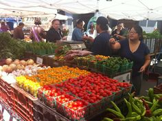 Visit the Ferry Plaza Farmers Market for fresh local produce, flowers, and food.
