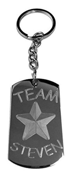 Team-Steven-Metal-Ring-Key-Chain-Keychain