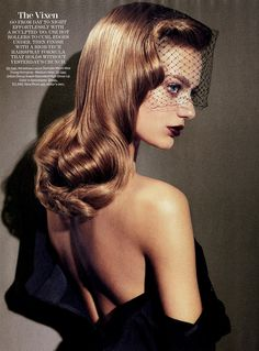 """Bregje Heinen in """"Picture Show"""" for Marie Claire US August 2013"""