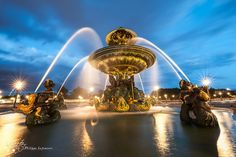 Paris - Fontaine des mers