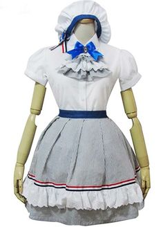 Multi-layer Lace Tie Cotton Cosplay Lolita Dress