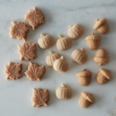 Pumpkin, Maple and Cinnamon Spiced Autumn Sugar Cubes - pop them in your tea, coffee or hot chocolate
