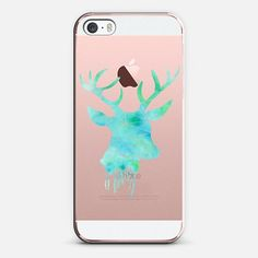 Deer - Watercolor - iPhone SE Case by Sophie Rousseau | @casetify