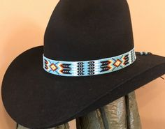 58d7d2f66bd6d Beaded hat bands Native American Style by ajwhatbands