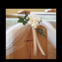 Bows and tulle