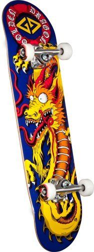 Powell Golden Dragon Caballero Art Complete Skateboard (8-Inch) by Powell.   63.46 5b64b63d83a