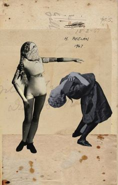 "Saatchi Art Artist Franz Falckenhaus; Collage, ""Possessed "" #art"