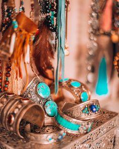 A touch of turquoise bohemians gypsetstyle turquoiseoverdiamondshellip