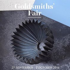 #GoldsmithsFair The UK's most exciting annual showcase of fine jewellery and contemporary silver!| 27 SEPTEMBER - 9 OCTOBER 2016| Image: Prickles Pod by @emmajanerulesilversmith #GoldsmithsFair16 #Silver #Gold #Luxury #Silversmithing #Jewellery #Jewelry #Design