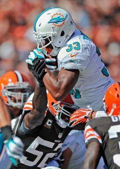 Miami Dolphins running back Daniel Thomas