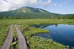 尾瀬ケ原と至仏山 Oze National Park