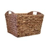 Found it at Wayfair - Organize It All Water Hyacinth Tapered Basket