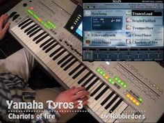 Yamaha Tyros 3: Chariots of fire (Vangelis)