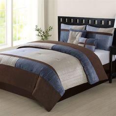 Weston Comforter Bed Set Multi Warm