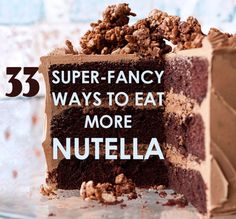 33 Super-Fancy Ways To Eat More Nutella