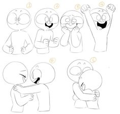 Drawing Tips Chibi Drawings Cartoon Drawings, Cute Drawings, Drawing Sketches, Drawing Tips, Drawing Ideas, Crazy Drawings, Character Drawing, Character Design, Drawing Expressions