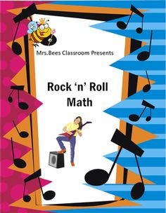Super fun music themed math product. Learn how to count to ten, and count by two's.