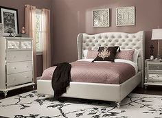 Hollywood Loft 4Pcqueen Bedroom Set  Queen Bedroom Sets Queen Enchanting Raymour And Flanigan Bedroom Sets Inspiration