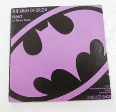 Prince The Arms of Orion 3 Track Three Inch Mini CD Gate-Fold Card Sleeve