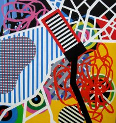 Ruth Piper- Existential-capital-acrylic-85-x-90
