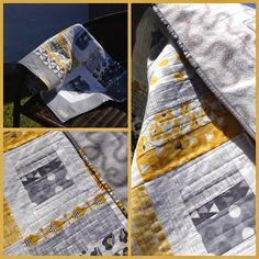 Birthes rom: Scrap quilt!