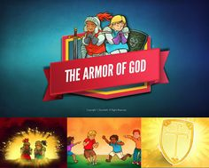 Ephesians 6 The Armor of God Kids Bible Lesson: The Armor of God (Ephesians 6:10-18). This popular kids lesson brings to life the Apostle Paul's words on spiritual warfare. Though there is a spiritual battle raging around us, Paul tells the believer not to fear. In Christ we have been given the full armor of God, more than able to defeat our Enemy! Packed with digital teaching content, Armor of God is perfect for your upcoming Ephesians 6 Sunday school lesson.