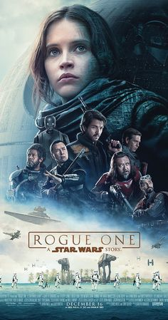 Directed by Gareth Edwards.  With Felicity Jones, Mads Mikkelsen, Riz Ahmed, Ben Mendelsohn. The Rebellion makes a risky move to steal the plans to the Death Star, setting up the epic saga to follow.