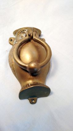 Amazing Vintage Owl Door Knocker, Shabby Chic. French Cottage, Country Barnyard