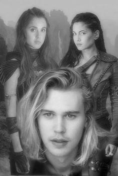 Wil, Amberle and Eretria