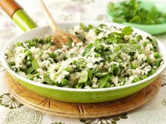 Watercress and Pea Risotto is the perfect springtime meal - creamy, light and delicious.